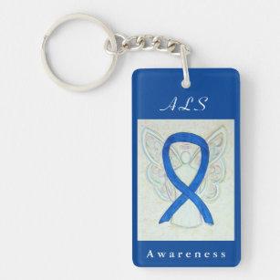 Als Awareness Ribbon Key Rings & Keychains | Zazzle AU