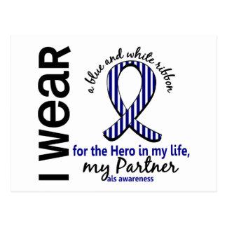ALS Hero In My Life Partner 4 Postcards