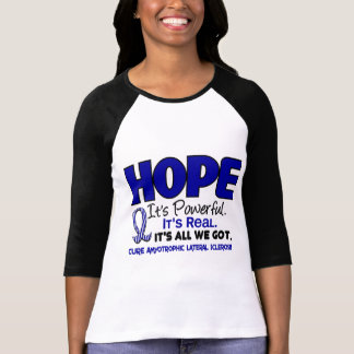 ALS Lou Gehrig's Disease HOPE 1 T-Shirt