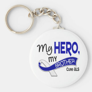 ALS My Brother My Hero 42 Key Ring