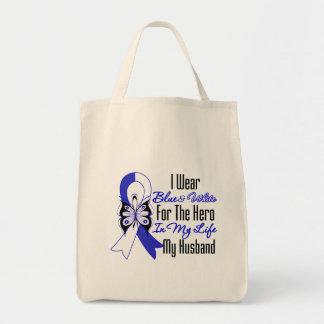ALS Ribbon Hero in My Life My Husband Bags