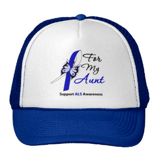 ALS Support For My Aunt Mesh Hats