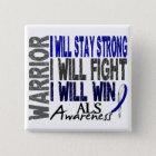 ALS Warrior 15 Cm Square Badge
