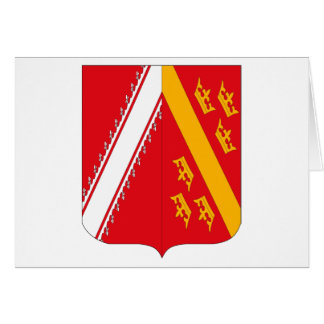 Alsace Coat of Arms Greeting Card