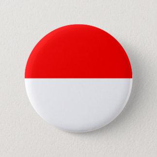 Alsace-Lorraine Flag 6 Cm Round Badge