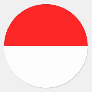 Alsace-Lorraine Flag Classic Round Sticker