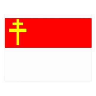 Alsace-Lorraine Flag Postcard