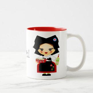 Alsace Two-Tone Coffee Mug