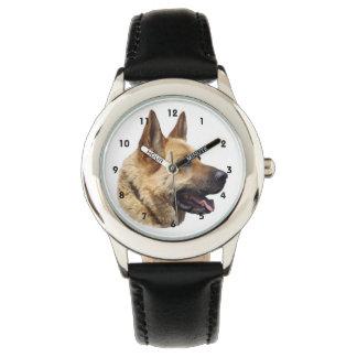Alsatian German shepherd dog Wrist Watches