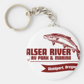 Alsea River RV Park Keychain