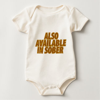 Also Available In Sober Baby Bodysuit