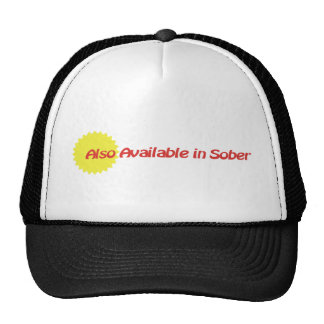 Also Available in Sober Trucker Hat