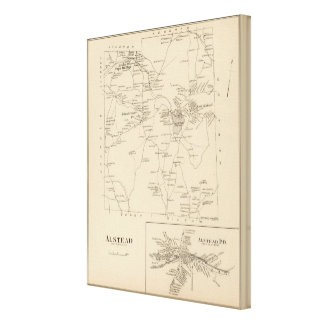 Alstead, Cheshire Co Canvas Print