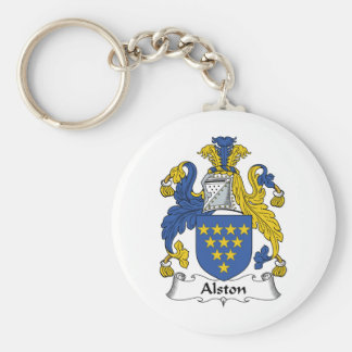 Alston Family Crest Key Ring