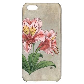 Alstroemeria Flower Art iPhone 5C Cases