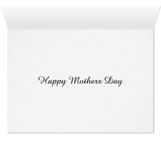 Alstroemeria Lily With Love On Mothers Day Card