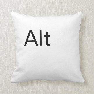 Alt, Computer Alt Key Throw pillow Throw Cushions
