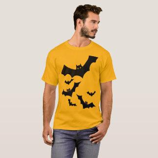 Alt-Costume Halloween Tee with Bats