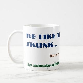 Alt Funny Skunk Smelly Fart Woodland Animal Basic White Mug