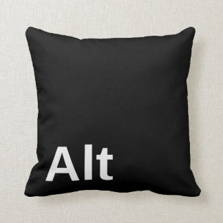 Alt Key Throw Cushions