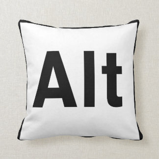 ALT Key Throw Pillow