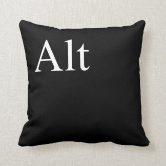 alt of ctrl, alt, delete cushion