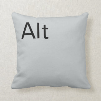Alt Pillow Throw Cushion