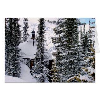 Alta Cabin Card