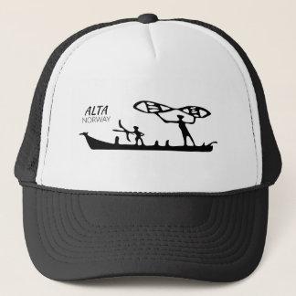 Alta, Norway (rock carving) Trucker Hat