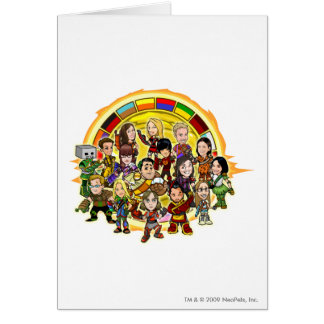 Altador Cup Staff Group Greeting Card