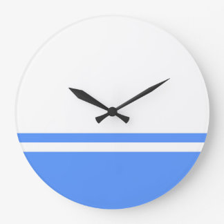 Altai Republic flag symbol Russia Large Clock