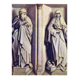 Altar Of Stabwunders Marriage Of Mary And 21.5 Cm X 28 Cm Flyer