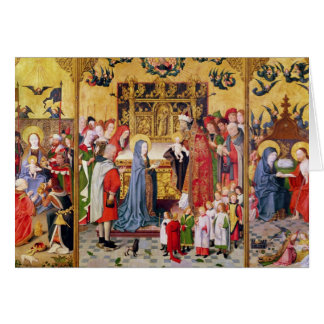 Altarpiece of the Seven Joys of the Virgin Card