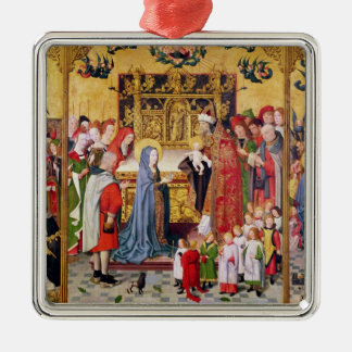 Altarpiece of the Seven Joys of the Virgin Ornament