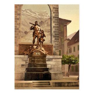 Altdorf, William Tell's Memorial, Lake Lucerne, Sw Post Card