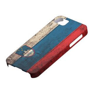 Alte hölzerne Slowenien-Flagge Case For The iPhone 5