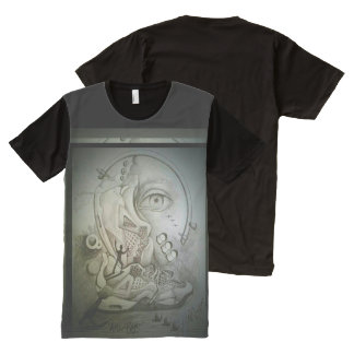 """""""Alter Ego"""" All-Over Print T-Shirt"""