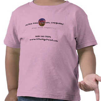 Alter Ego Print - Toddler T-Shirt Pink