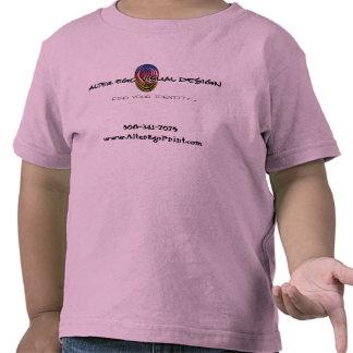 Alter Ego Print - Toddler T-Shirt Pink