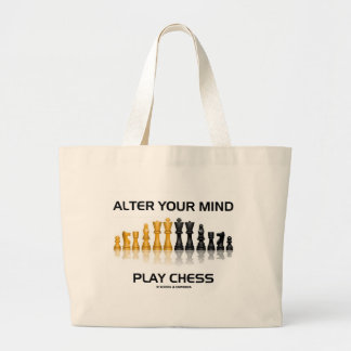 Alter Your Mind Play Chess Reflective Chess Set Bag
