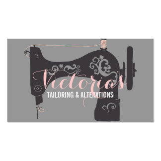 Alteration, Tailor , Tailor, Seamstress Pack Of Standard Business Cards