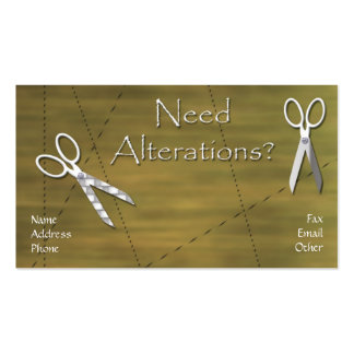 Alterations Pack Of Standard Business Cards