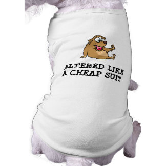 Altered Doggie Tank Top Sleeveless Dog Shirt