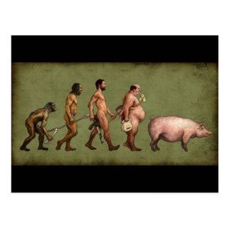Altered Evolution Postcard