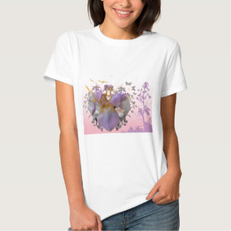 Altered Pink Iris Shirt