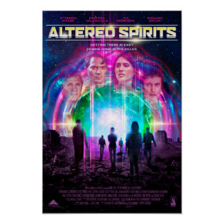 Altered Spirits - Sci-Fi Poster
