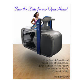AlterG Open House Postcard