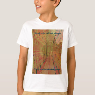 Alternate Reality Moving Into The Future Abstract T-Shirt