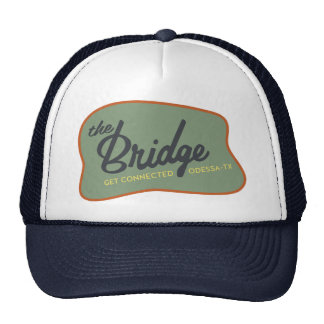 Alternate retro style Bridge foam hat