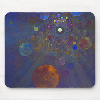 Alternate Universe Abstract Art Mouse Pad